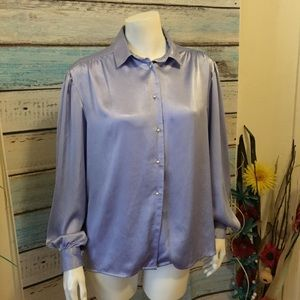 🛍4/$20 SALE Jaclyn Smith Blouse button down top